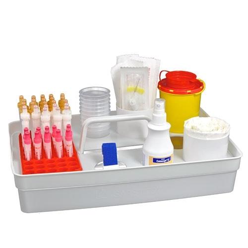 Plateau de pr l vement sanguin safety tray syst mes de - Prelevement sanguin sur chambre implantable ...